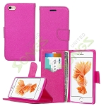 iPhone 6S Plus/6 Plus Wallet Case Pink